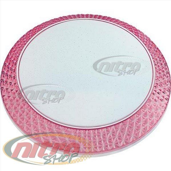 Светильник светодиодный LED настенный потолочный Horoz Electric PHANTOM-48 48 Вт (~384 Вт) 220В 6400K Розовый Белый (027-002-0048) - изображение 1