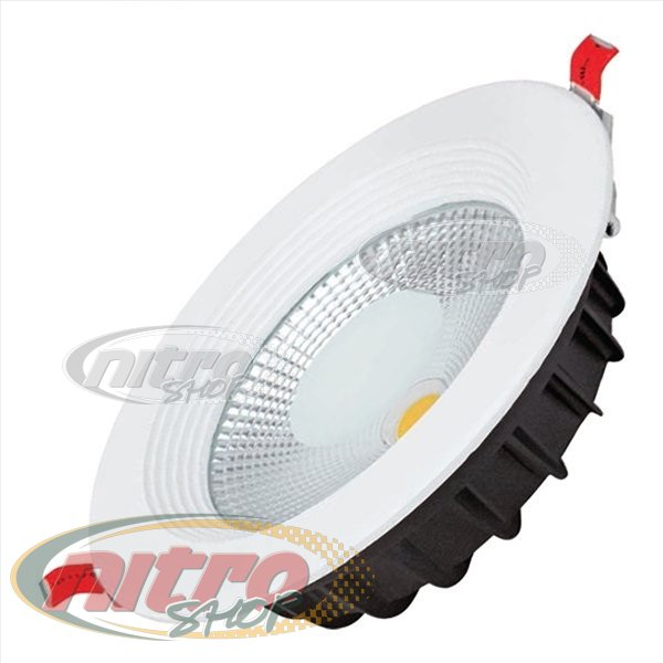 Світильник врізний світлодіодний LED Horoz Electric VANESSA-10 10Вт (~80Вт) 220В 6400K Круглий Білий (016-044-0010) - зображення 1