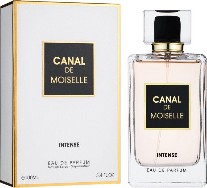 Парфюмированная вода для женщин Fragrance World Canal De Moiselle Intense аналог Chanel Coco Mademoiselle Intense 100 мл (6291106487794) - изображение 1