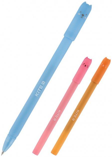 Набор ручек Kite Для всех 0.5 мм 4 шт Синий (K20-S15) - изображение 1
