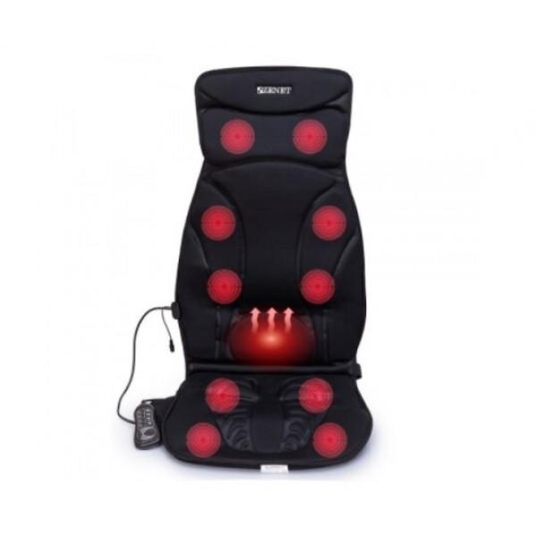 Масажна накидка Zenet на крісло автомобіля, модель ZET-814 чорний (493617) - зображення 1