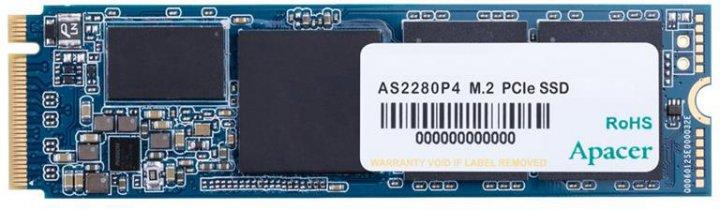 Apacer AS2280P4 1TB NVMe M.2 2280 PCIe 3.0 x4 3D NAND TLC (AP1TBAS2280P4-1) - зображення 1