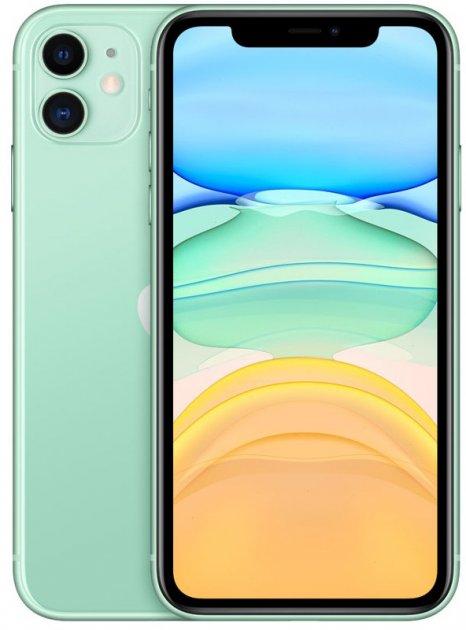 Мобильный телефон Apple iPhone 11 64GB Green Slim Box (MHDG3) Официальная гарантия - изображение 1