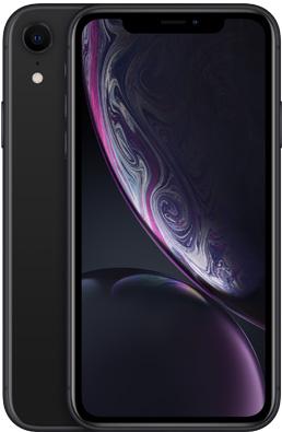 Мобильный телефон Apple iPhone Xr 128GB Black Slim Box (MH7L3) Официальная гарантия - изображение 1