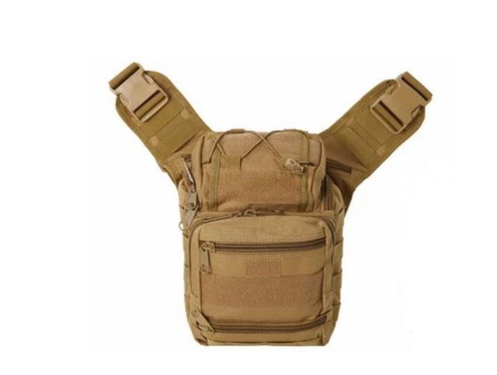 Сумка через плечо тактическая A25 Бежевый - изображение 1
