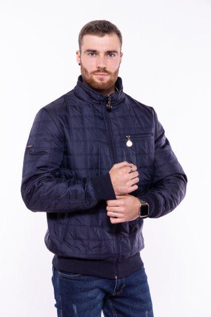 Куртка стеганая Time of Style 187P143 XL Темно-синий - изображение 1
