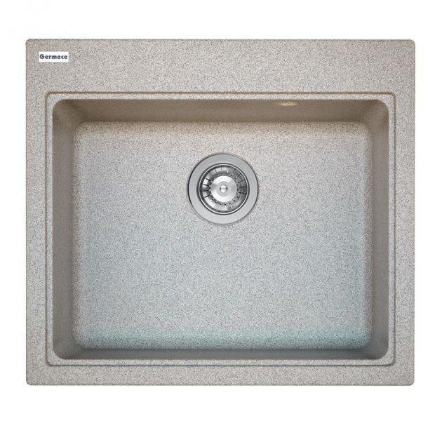 Мойка Кухонная Platinum Vesta 5852 Серая - изображение 1