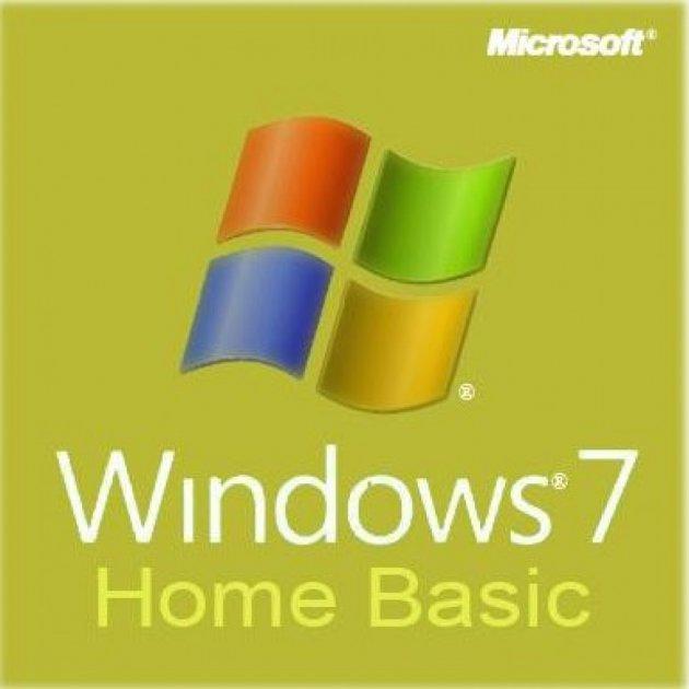 Операційна система Microsoft Windows 7 Home Basic 32-bit Russian OEM DVD (F2C-00884) - зображення 1