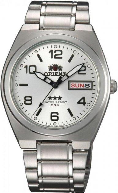 Чоловічі наручні годинники Orient SAB08003W8 - зображення 1