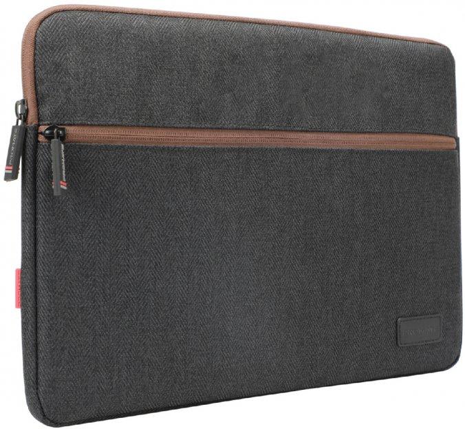 "Чохол для ноутбука Promate Portfolio-M 13"" Black (portfolio-m.black) - зображення 1"