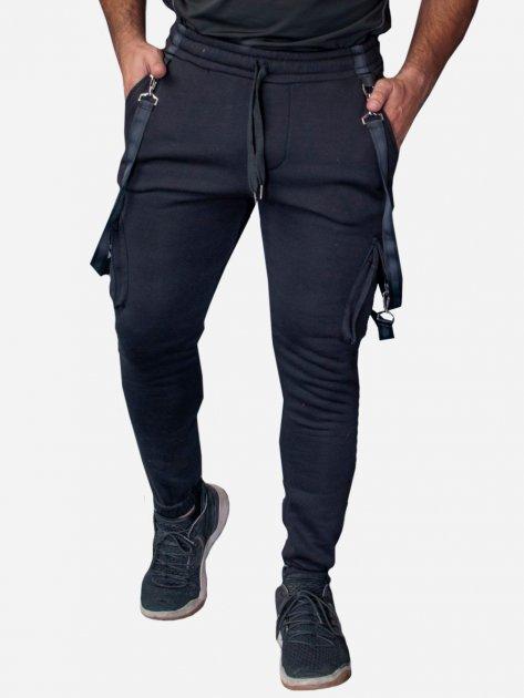 Спортивные штаны Jaklin 2851 M Черные (4821000042229) - изображение 1