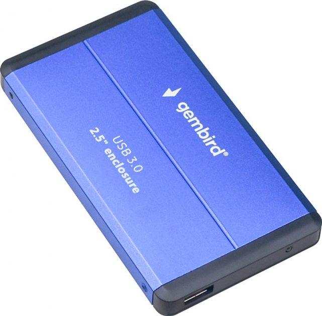 "Внешний карман Gembird EE2-U3S-2-B для 2.5"" HDD/SSD USB 3.0 - изображение 1"