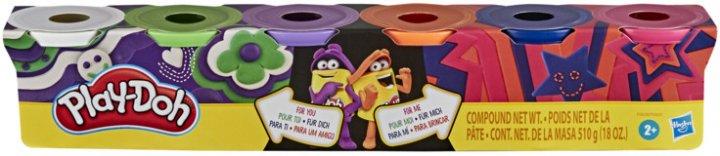 Игровой набор Hasbro Play-Doh 6 баночек (F0605_F0628) (271873446) - изображение 1