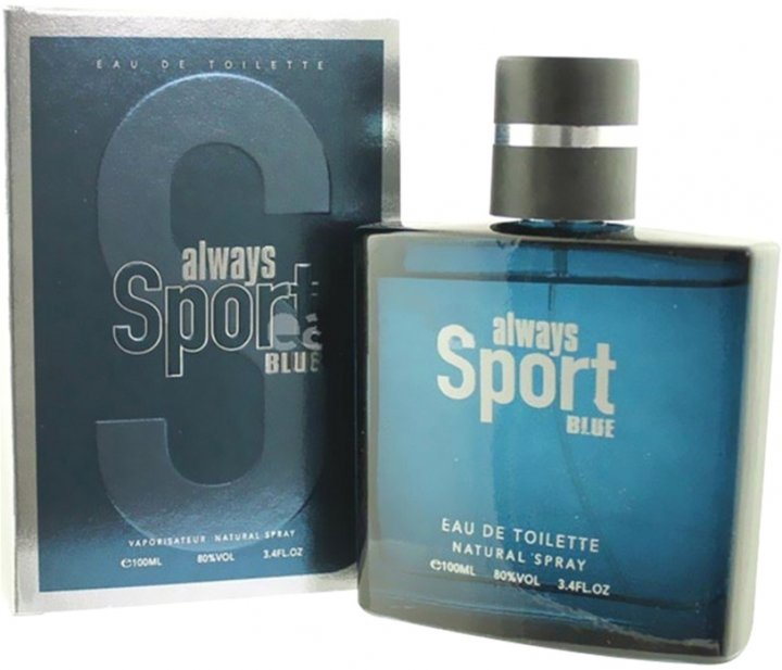 Туалетная вода для мужчин Cosmo Designs Always Sport Blue 100 мл (ROZ6400103826) - изображение 1