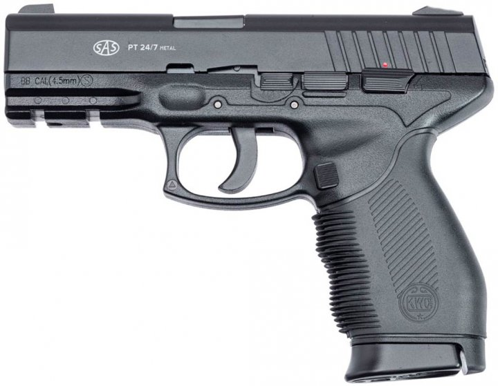 Пістолет пневматичний SAS Taurus 24/7 Metal - зображення 1