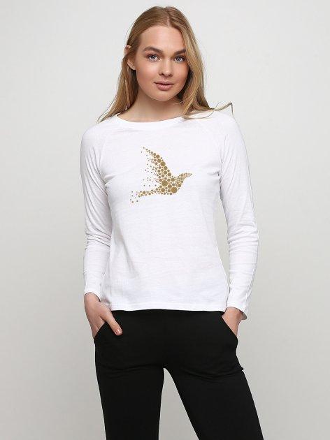 Лонгслив Malta 18Ж426-17-П2 Nice Bird-Gold ХХL (50) Белый (2901000276380_mlt) - изображение 1