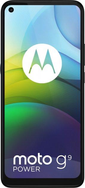 Мобильный телефон Motorola G9 Power 4/128 Metallic Sage (PALR0020RS) - изображение 1