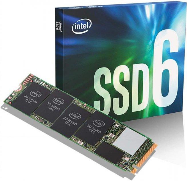 Твердотельный накопитель SSD M.2 INTEL 660P 512GB PCIe 3.0 x4 2280 QLC (JN63SSDPEKNW512G8X1) - зображення 1