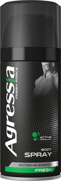 Дезодорант men Agressia Fresh 150 мл (CMA 011) - изображение 1