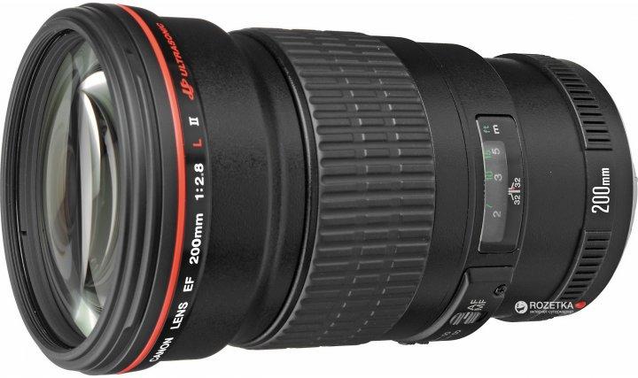 Canon EF 200mm f/2.8L II USM (2529A015) Официальная гарантия! - изображение 1