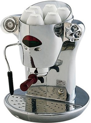 Кофеварка эспрессо ELEKTRA Nivola W-P - изображение 1