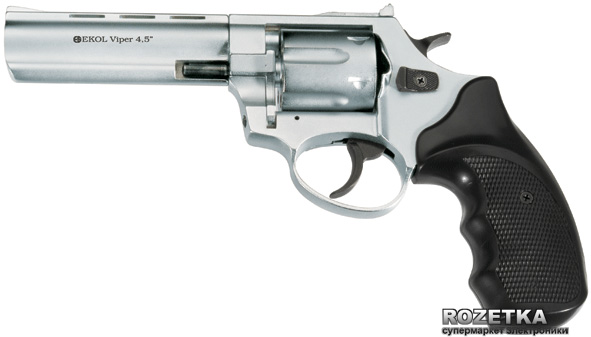 "Револьвер Ekol Viper 4.5"" SHINY CHROME (E4VPI1 20010283) - зображення 1"