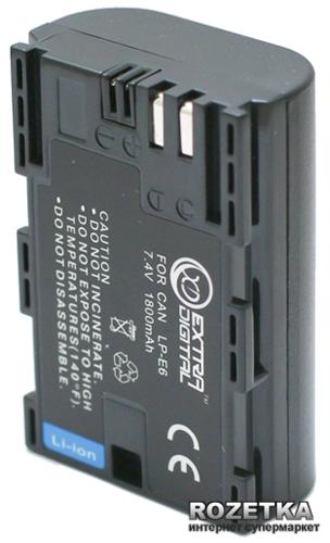 Аккумулятор ExtraDigital для Canon LP-E6 Chip (BDC2431) - изображение 1