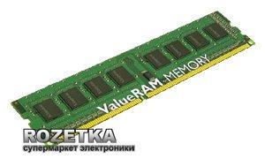 Оперативная память Kingston DDR3-1333 4096MB PC3-10600 (KVR1333D3N9/4G) - изображение 1