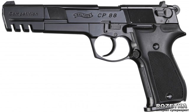 Пневматичний пістолет Umarex Walther CP88 Competition (416.00.05) - зображення 1