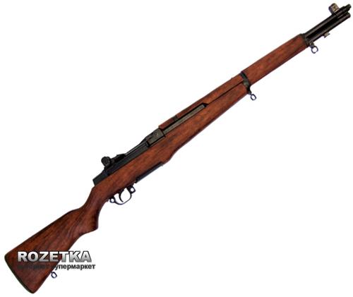 Макет гвинтівки M1 Garand часів Другої світової війни, США 1932 рік, Denix (1105) - зображення 1