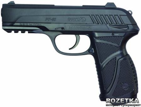 Пневматический пистолет Gamo PT-85 Blowback (6111376) - изображение 1