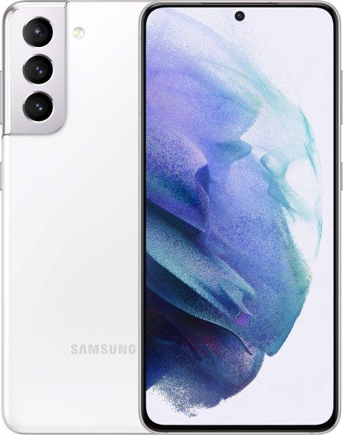 Мобільний телефон Samsung Galaxy S21 8/128 GB Phantom White (SM-G991BZWDSEK) - зображення 1