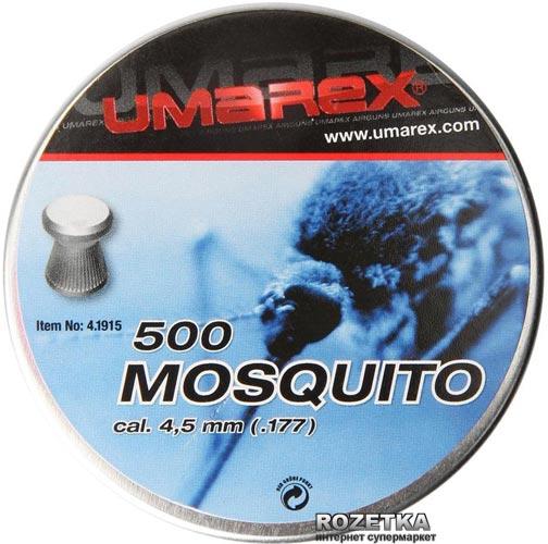 Свинцеві кулі Umarex Mosquito 0.44 м 500 шт (4.1915) - зображення 1
