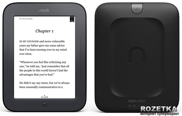 Barnes & Noble Nook The Simple Touch Reader (NEW) - изображение 1