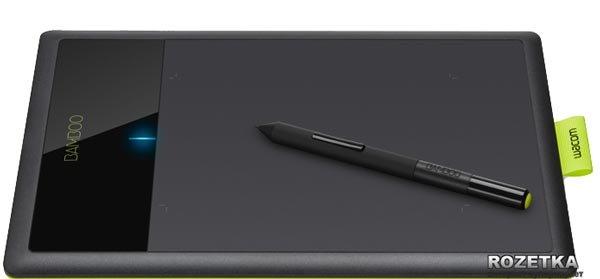 Графічний планшет Wacom Bamboo Pen (CTL-470K-RUPL) - зображення 1