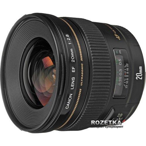 Canon EF 20mm f/2.8 USM Официальная гарантия - изображение 1
