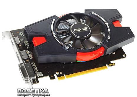 Asus PCI-E Radeon HD 6670 1024MB GDDR5 (128 bit) (810/4000) (DVI, HDMI, Display Port) (EAH6670/G/DIS/1GD5) - изображение 1