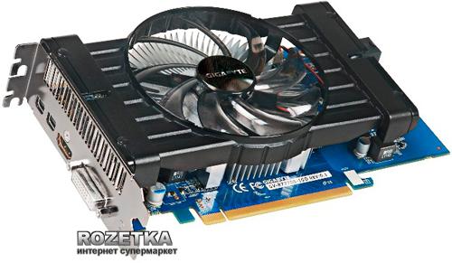 Gigabyte PCI-Ex Radeon HD7770 1024MB GDDR5 (128bit) (1050/4500) (DVI, 2 x Mini DisplayPort, HDMI) (GV-R777OC-1GD) - изображение 1