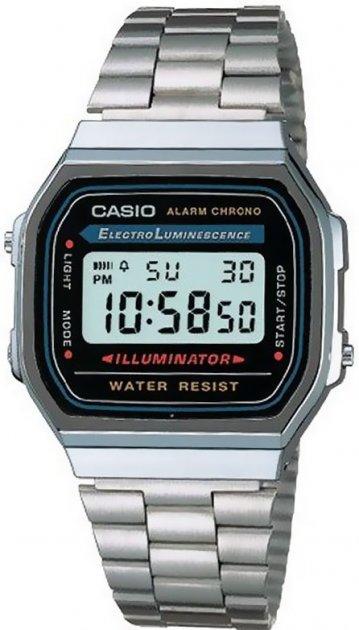 Мужские часы CASIO A168WA-1YES/1UZ - изображение 1