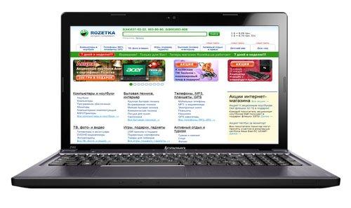 Ноутбук Lenovo IdeaPad Z580 (59-340588) - изображение 1