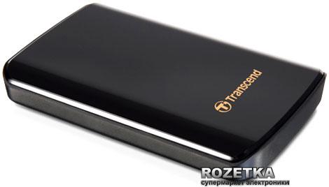 Жесткий диск Transcend StoreJet 25D3 1TB TS1TSJ25D3 2.5 USB 3.0 External Black - изображение 1