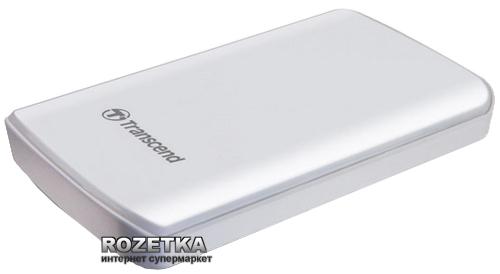 Жесткий диск Transcend StoreJet 25D3 1TB TS1TSJ25D3W 2.5 USB 3.0 External White - изображение 1