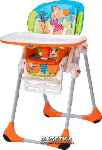 Стульчик для кормления Chicco Polly Double Phase оранжевый (79074.33) - изображение 1