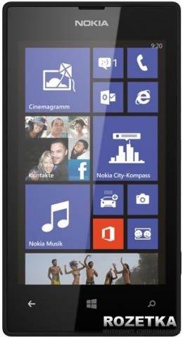 Мобильный телефон Nokia Lumia 520 Black - изображение 1