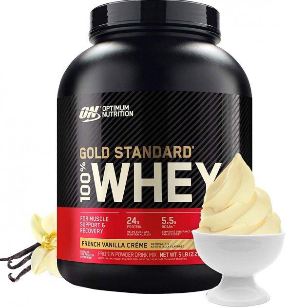 Протеин Optimum Nutrition 100% Whey Gold Standard 2.27 кг French Vanilla Creme (748927024128)