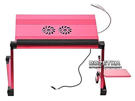 Столик для ноутбука складной трансформер розовый купить массажер простаты нексус спарта