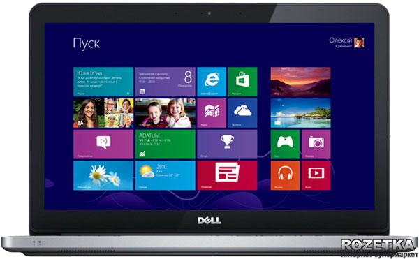 Ноутбук Dell Inspiron 7737 (i77FT71610DDW-24) Aluminium - изображение 1