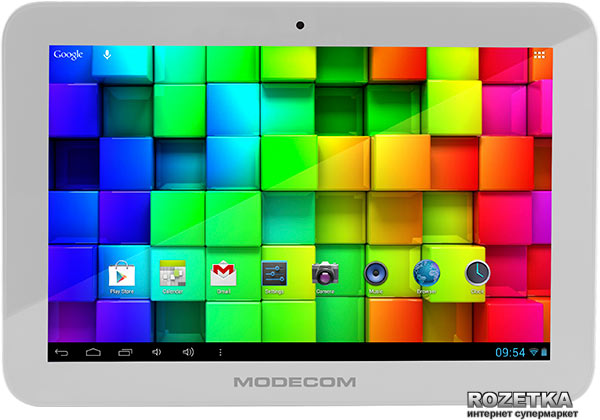Планшет Modecom FreeTAB 1004 IPS X4 White (TAB-MC-TAB-1004-IPS-X4-WH) - изображение 1