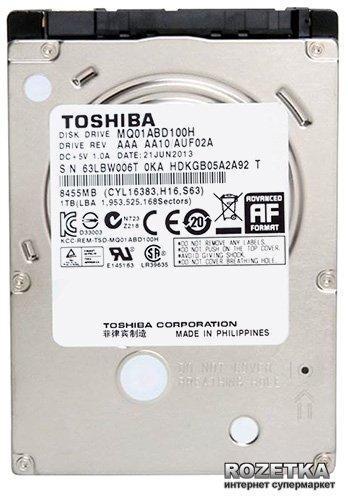 "Жорсткий диск Toshiba SSHD 1TB 5400rpm 32MB MQ01ABD100H 2.5"" SATAIII - зображення 1"