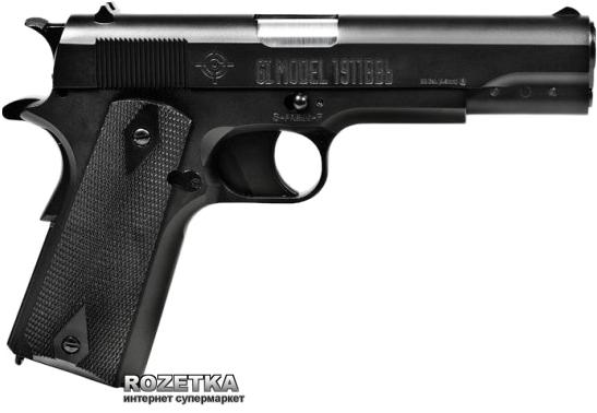 Пневматичний пістолет Crosman GI Model 1911BBb (40021) - зображення 1